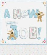 Boofle Large New Job Card